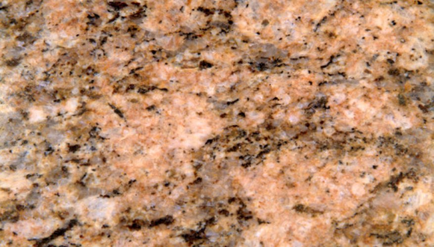 Feldspar is found in granite.