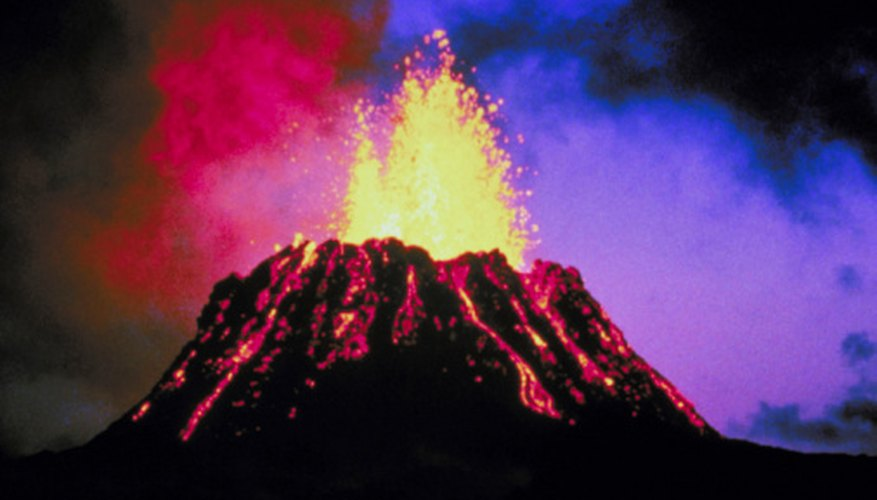 Volcanoes are landforms found at plate boundries.