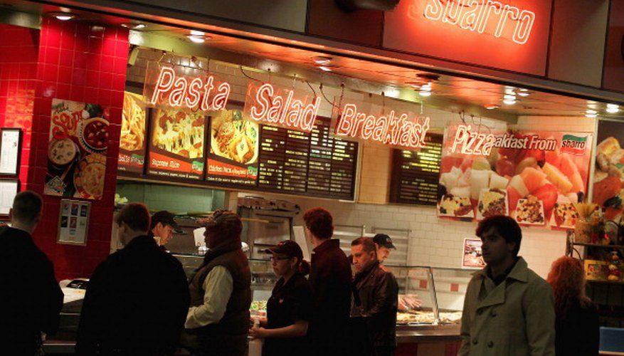Sbarro is one of several chains of Italian restaurants. When considering to franchise, remember the risk as well as the reward.