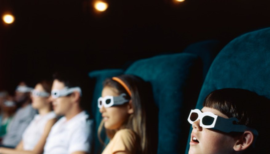 A 3-D theater can use Imax, RealD 3D or Dolby Digital 3D.