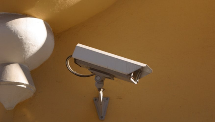 The use of surveillance cameras in the workplace is regulated by law.