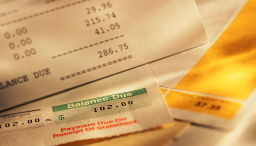Landlords itemize fees on monthly rental statements.