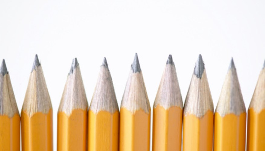 Pencil lead is actually graphite.