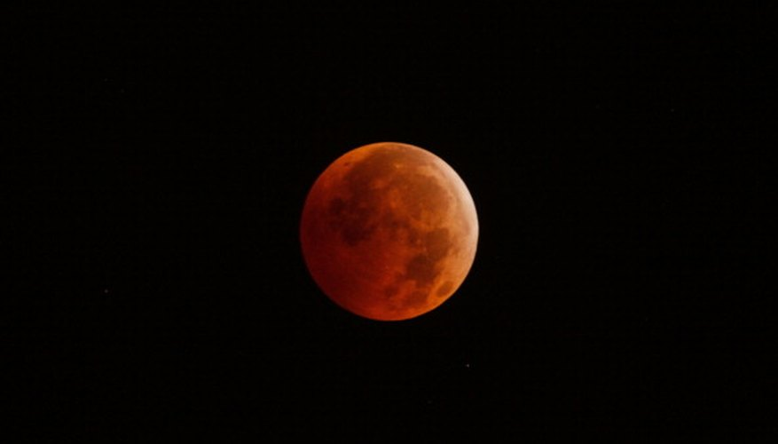 Total lunar eclipses only occur on a full moon.