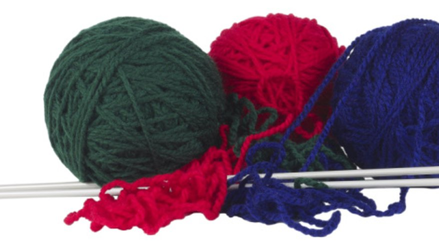Grab a pair of knitting needles and learn a new technique: the brioche stitch.