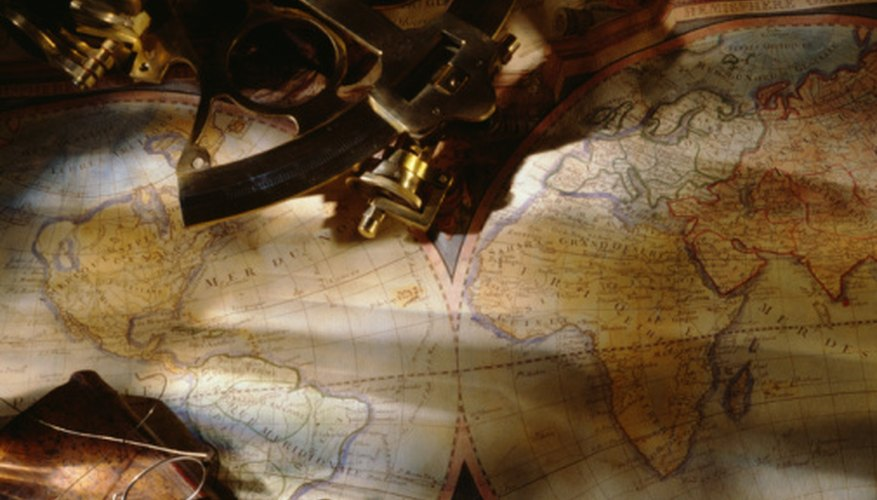 The sextant was a crucial pre-GPS navigation tool.
