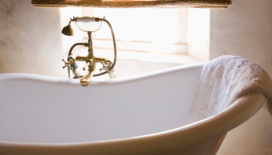 How To Attach Feet To A Clawfoot Tub Homesteady