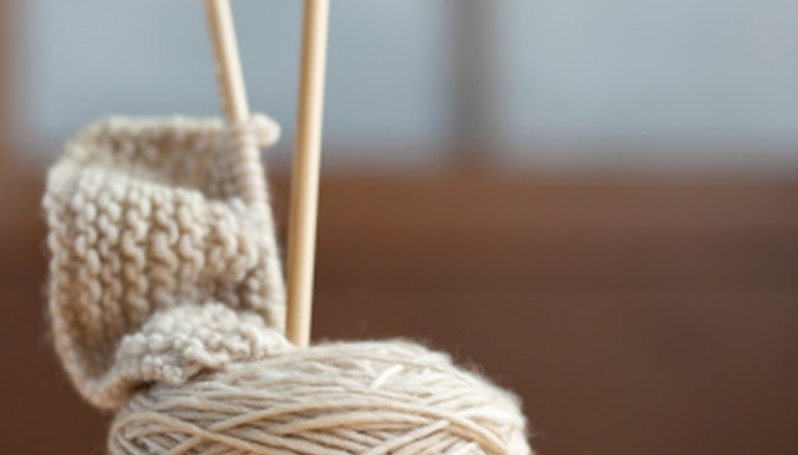 Point protectors can protect your knitting needles.