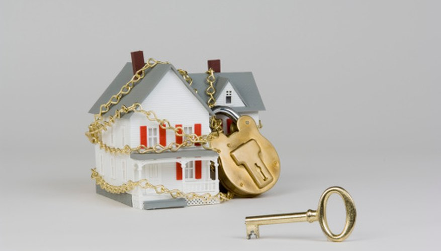 Foreclosed houses must be winterized to prevent damage.