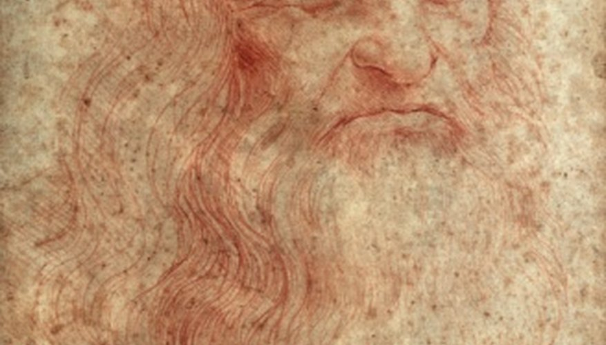 Leonardo da Vinci perfected many styles of oil painting while working on his famous