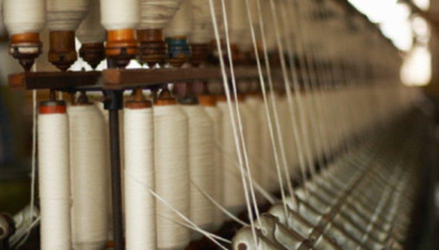 En la industria textil se fabrican todo tipo de telas, desde ropa y sábanas hasta incluso cuerdas.
