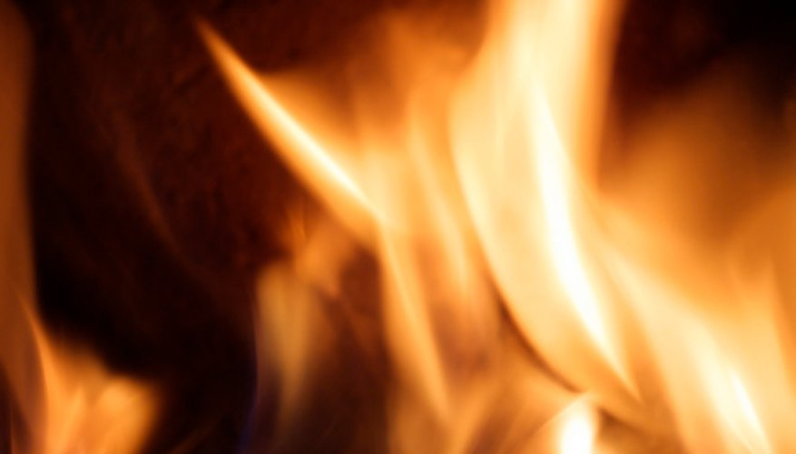A fire can be fueled for longer periods through using briquettes rather than wood.