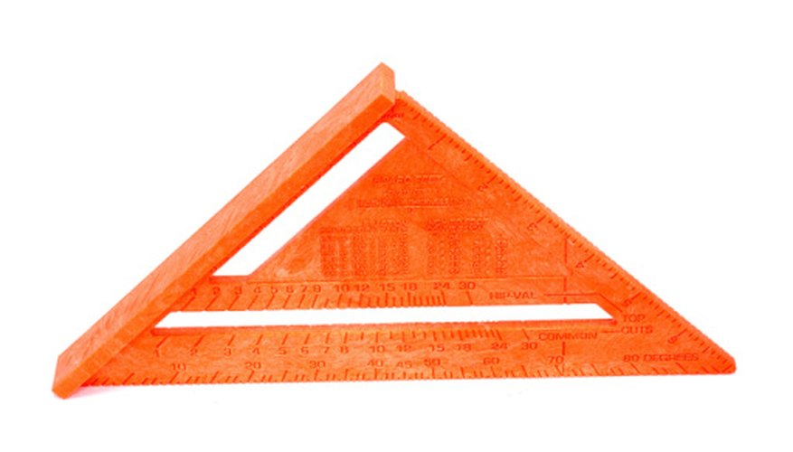 An isosceles triangle has at least two equal legs and a base.