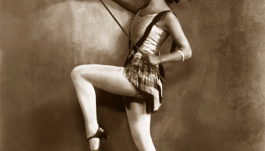 Tap dancing was a main form of entertainment in the 1930s.
