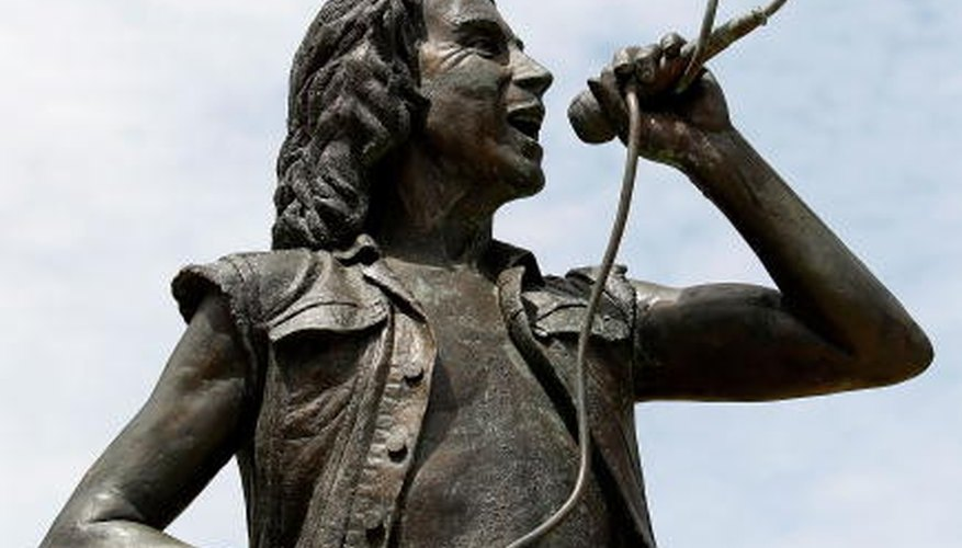 AC/DC's second lead singer, Bon Scott, died in 1980 and was memorialized with a statue in 2008 in Perth, Australia.