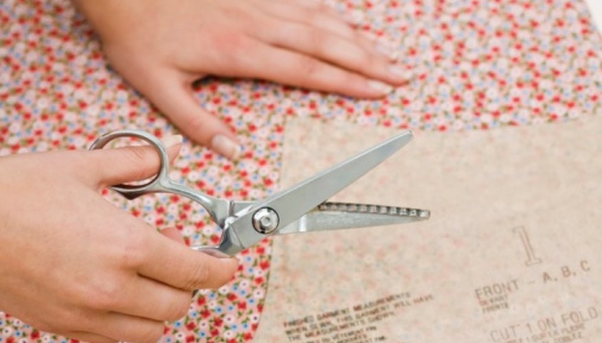 Cut fabric circles to create a variety of craft projects.