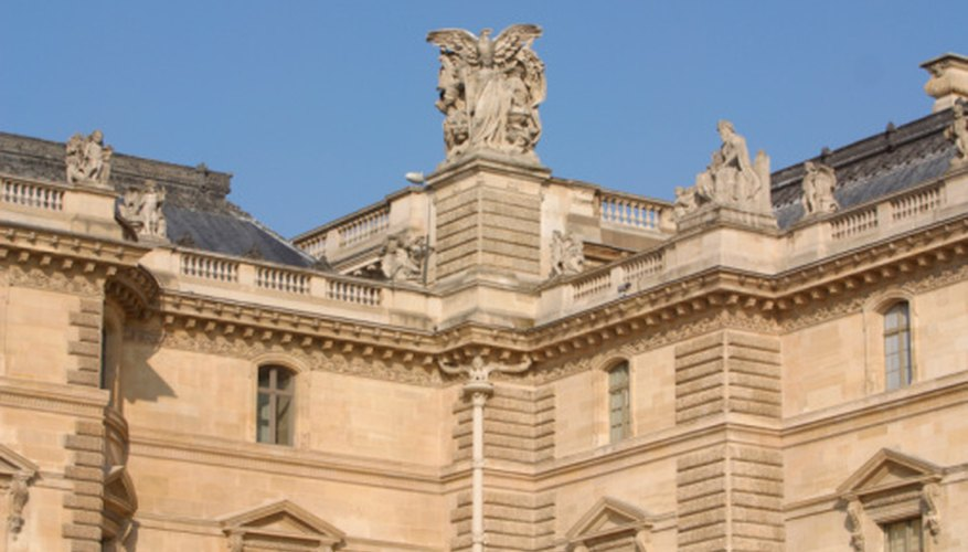 The Louvre in Paris is one of many museums that houses famous examples of ancient Greek pottery.