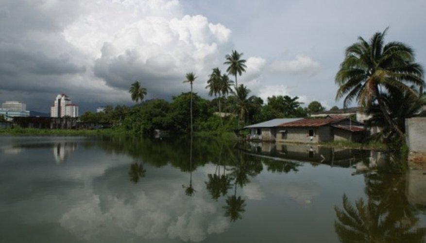 Monsoons often are responsible for massive flooding.