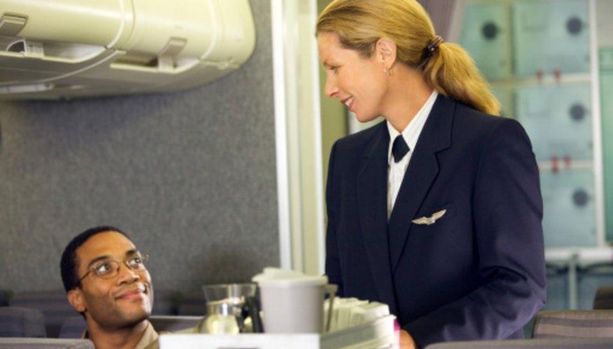 Flight Attendants do a lot more than just serve drinks.