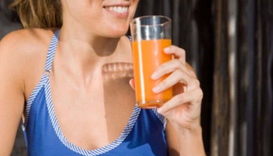 Puedes comprar jugos de frutas y otras bebidas con cupones de alimentos.