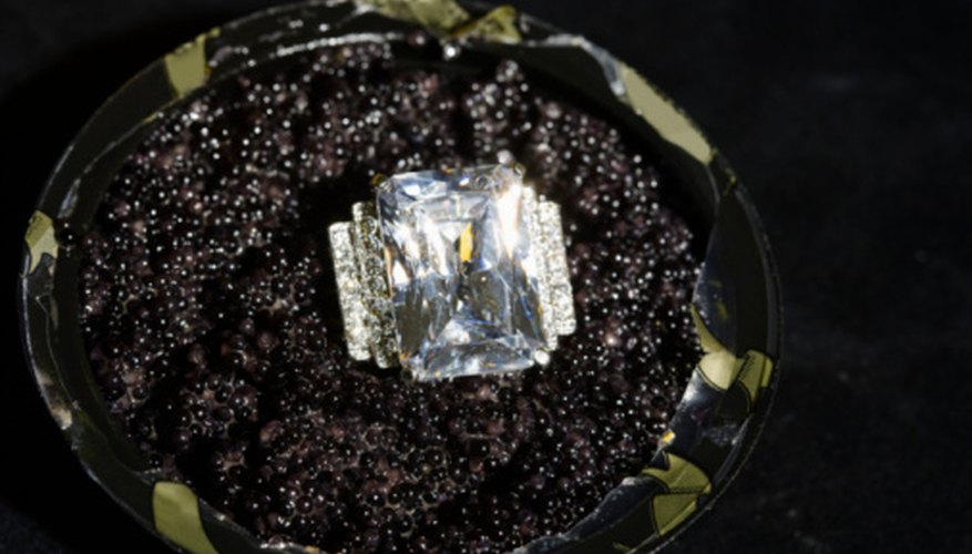The majority of the world's diamond supply are used for industrial purposed and not for fine jewelry.