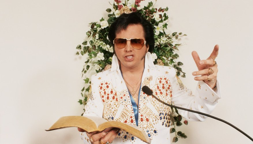 Elvis Presley has many immitators from all walks of life.
