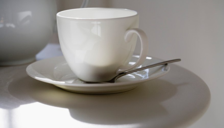 Try the cup and saucer.
