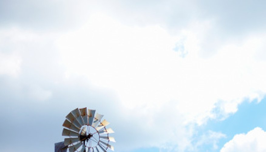 Repair your windmill so that it can perform wind-powered functions such as pumping water.