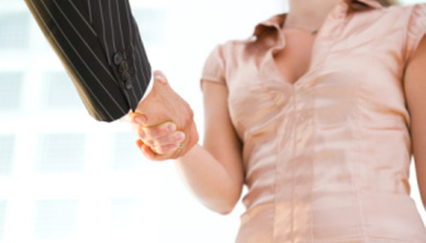 Selecting the right partner can lead to a successful business arrangement.