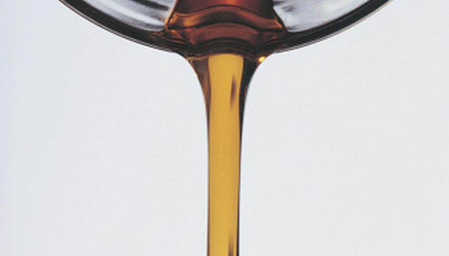 A Zahn cup can also measure oil viscosity.