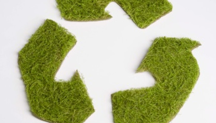 Recycling helps to reduce energy consumption.