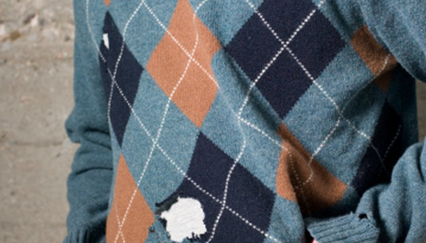 A hole doesn't have to signify the death of your favorite sweater.