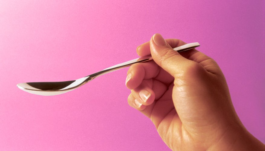 Teaspoons can range in size depending on location.