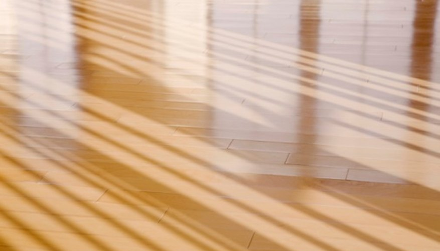 Shellac is a traditional finish for hardwood floors.