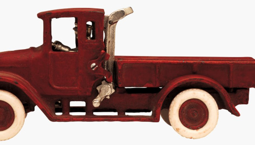 Collectors value certain vintage toy trucks in the thousands of dollars