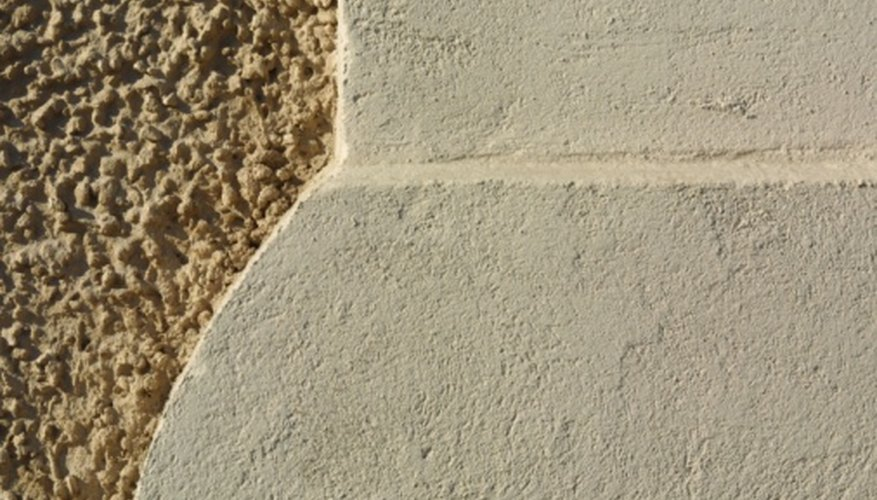 Stucco is the common name for Portland cement plaster.