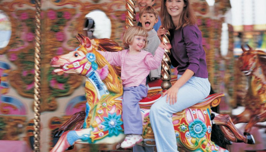 You can make your own wooden carousel horse.