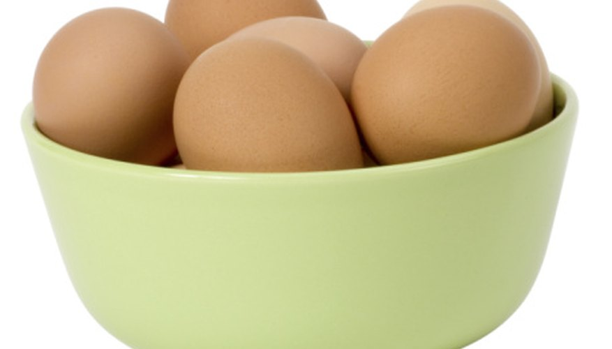 Raw eggs, when lowered gently into salt water, will float.