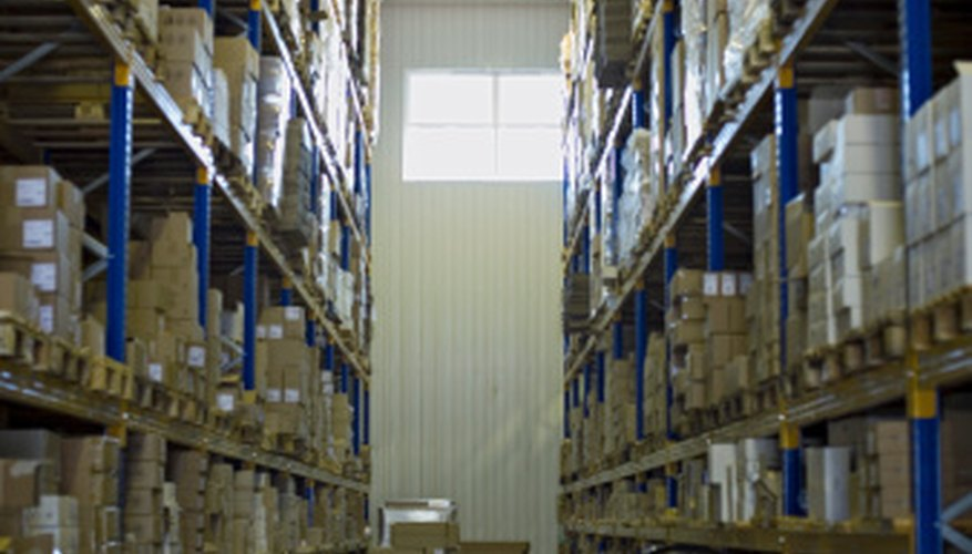 A warehouse is a significant part of a chain supply system.