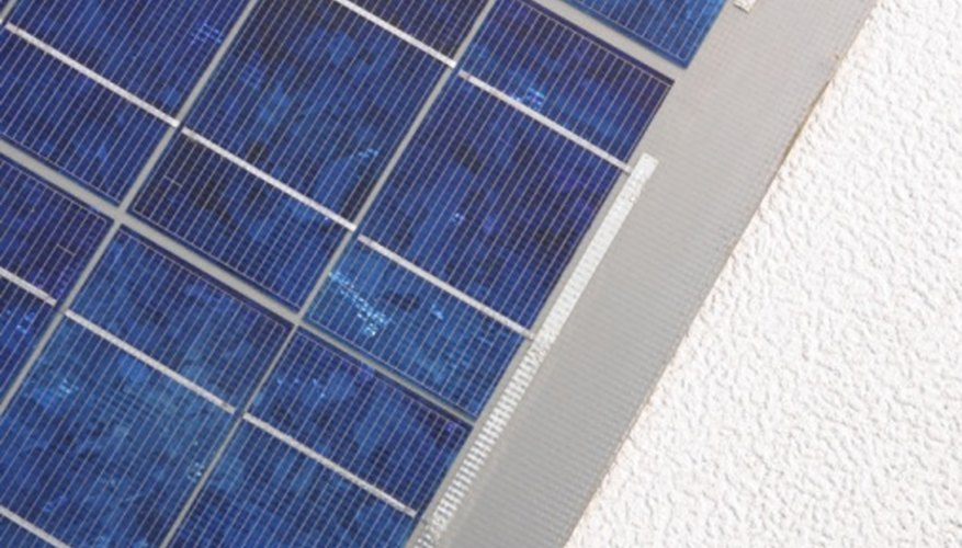 Solar panels have limitations on their efficiency.