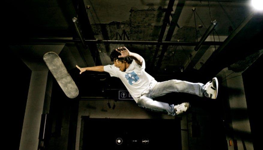 Fotos de saltos pueden ser fotos creativas para tu perfil.