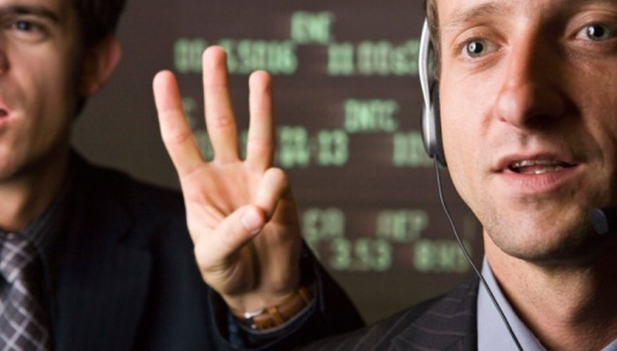 Floor brokers trade stocks on behalf of their clients on the floor of major stock exchanges.