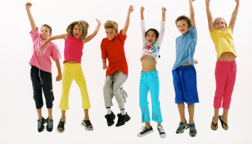 Dancing enables children to showcase their performance skills.