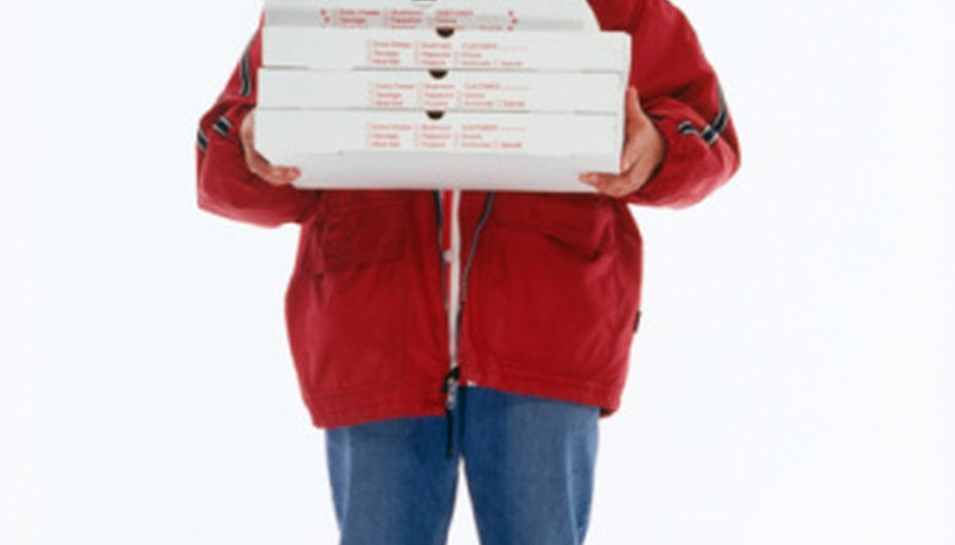 Check with your car insurance company to see if pizza delivery is included in your policy.