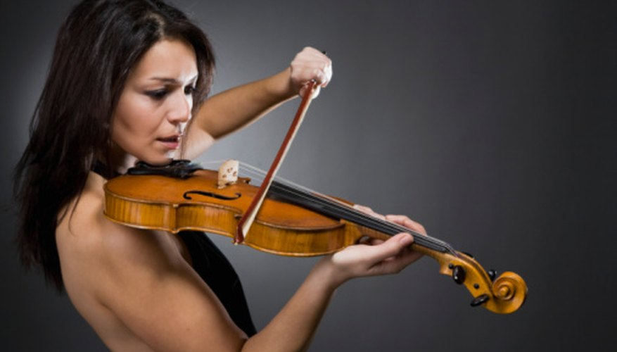 In many ways, the violin section is the cornerstone of an orchestra.