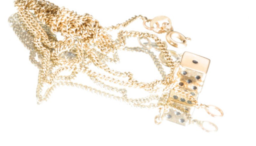 The most popular materials that jewelry are made of are gold, silver, copper, and diamonds.