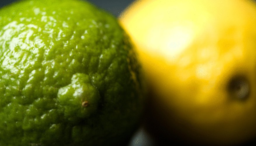 The sour taste comes from the acid in certain foods, like citrus.
