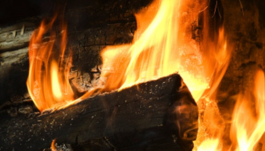 Fireplaces use firebricks or firebrick alternatives to contain heat.