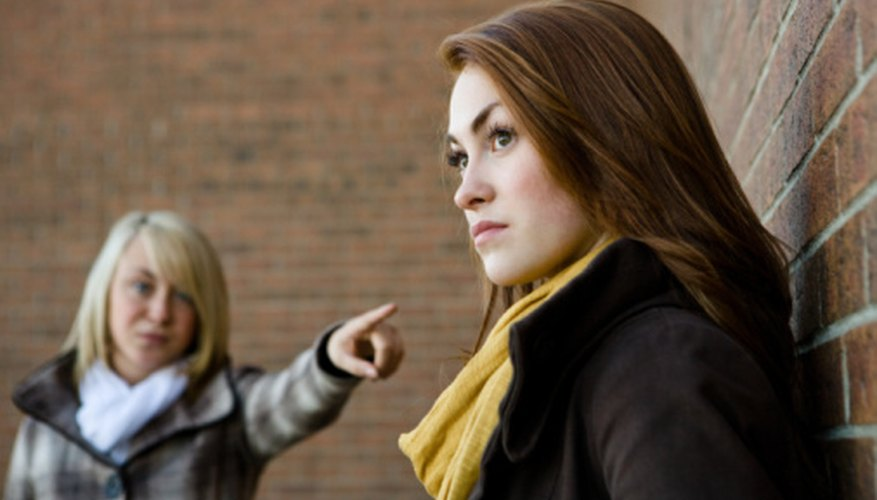 A disagreement doesn't necessarily have to turn into a conflict.