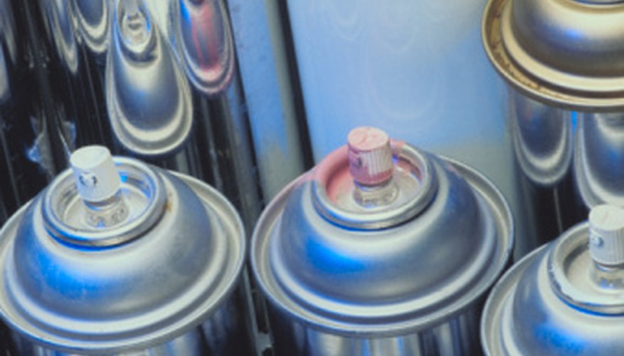 There are many types of spray paint available at your local building supply store.